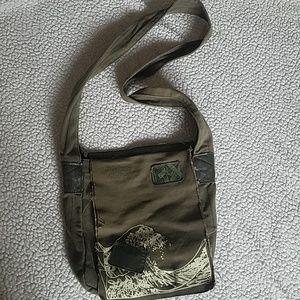 Roxy surf green purse